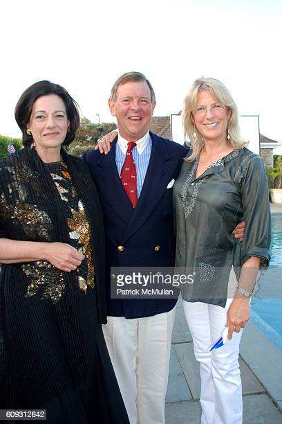 KT McFarland Alan Lerner and Liza Lerner attend DELLA FEMINA'S FOURTH OF JULY PARTY at East Hampton on July 7 2007