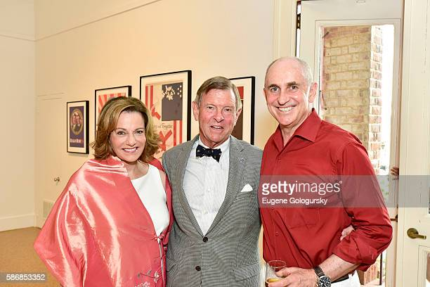McFarland Alan McFarland and Chris Liddell attend the Opening Reception For ICP's Special Exhibition Winning The White House From Press Prints To...