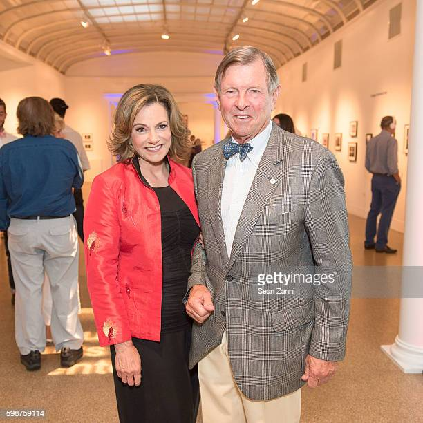 T McFarland and Alan McFarland attend Southampton Arts Center's SummerFest Food Wine Festival 2016 at Southampton Arts Center on September 1 2016 in...