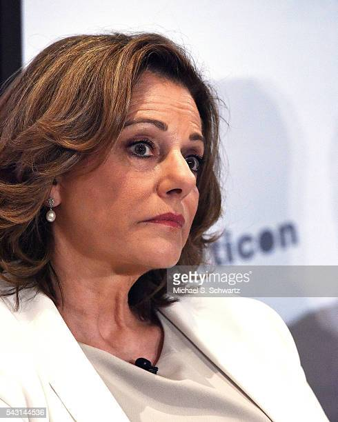 McFarland speaks during her appearance at Politicon at Pasadena Convention Center on June 25 2016 in Pasadena California
