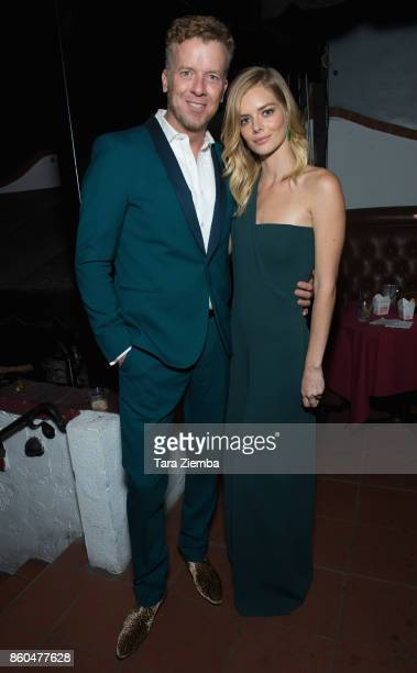 McG and Samara Weaving attend the premiere of Netflix's 'The Babysitter' on October 11 2017 in Los Angeles California