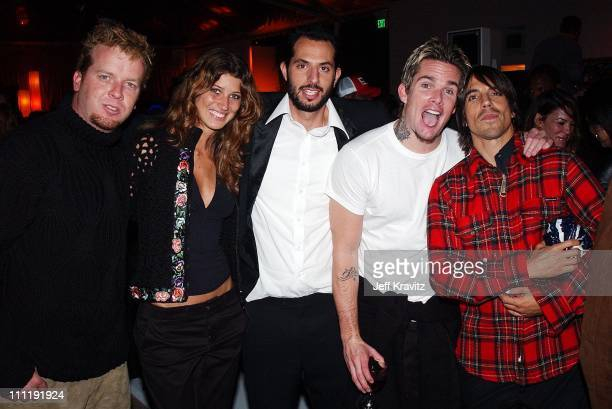 McG Michelle Alves Guy Oseary Mark McGrath and Anthony Kiedis