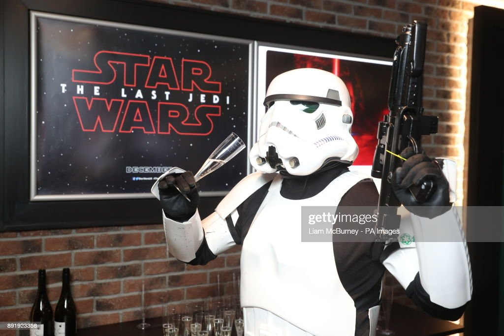 JJ McGettigan attends a special screening of Star Wars: The Last Jedi, some scenes of which were filmed on location in Ireland, at Letterkenny in Co Donegal.