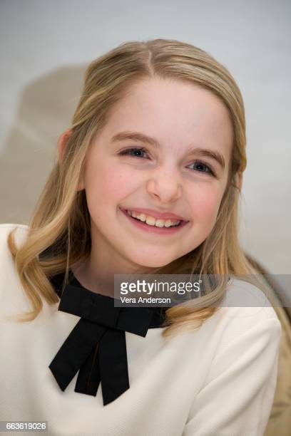 Mckenna Grace at the Gifted Press Conference at the Four Seasons Hotel on March 31 2017 in Beverly Hills California