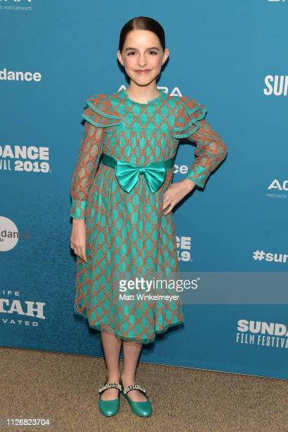 Mckenna Grace attends Troop Zero Premiere during 2019 Sundance Film Festival at Eccles Center Theatre on February 01 2019 in Park City Utah