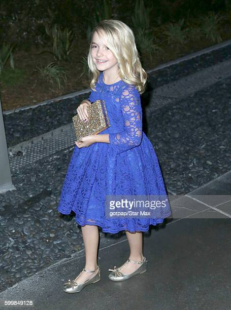 McKenna Grace is seen on September 6 2016 at outside ArcLight Theatre in Los Angeles CA