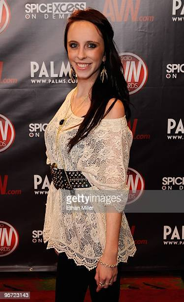 McKenna Taylor daughter of adult film legend Marilyn Chambers arrives at the 27th annual Adult Video News Awards Show at the Palms Casino Resort...