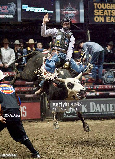 McKennon Wimberly rides his bull Marmaduke in Round 2 Wimberly rode Marmaduke for 8 seconds receiving a score of 88 points