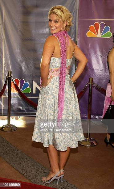 McKensie Westmore during NBC All Star Casino Night 2003 TCA Press Tour Arrivals at Renaissance Hotel Grand Ballroom in Hollywood California United...
