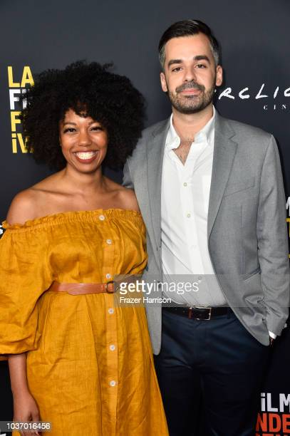 McKenzie ChinnGregory Dixon attend the 2018 LA Film Festival Opening Night Premiere Of 'Echo In The Canyon' at John Anson Ford Amphitheatre on...