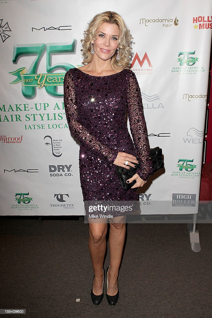 McKenzie Westmore arrives at The Make-Up Artists And Hair Stylists Guild 75th Anniversary Gala at The Hollywood Museum on November 3, 2012 in Hollywood, California.