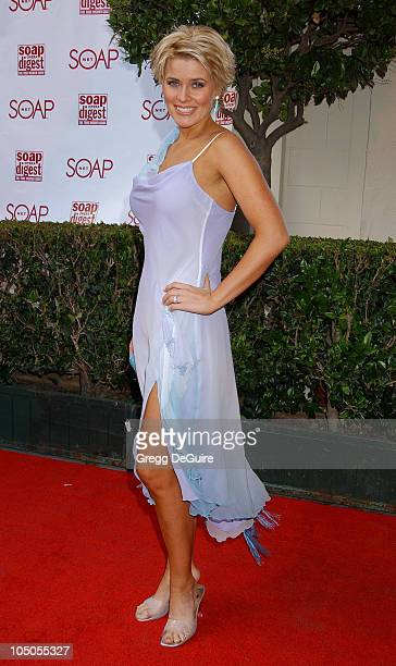 McKenzie Westmore during Soapnet Presents The Soap Opera Digest Awards Arrivals at ABC Prospect Studios in Los Angeles California United States