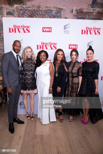 McKinley Freeman Fiona Gubelmann Star Jones Vanessa Williams Chloe Bridges and Camille Guaty attend VH1 Daytime Divas Premiere Event at the Whitby...