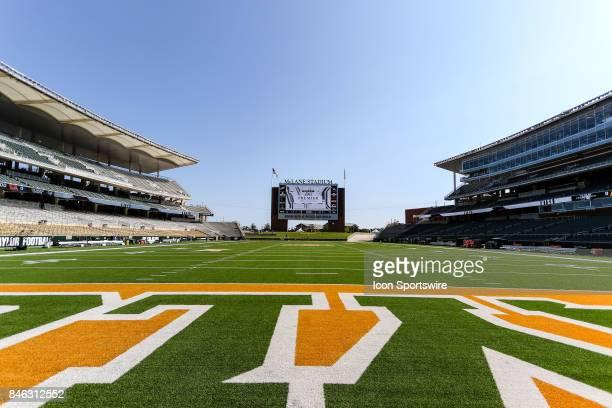 McLane Stadium before the game between the Baylor Bears and the UTSA Roadrunners on September 9 2017 at McLane Stadium in Waco Texas UTSA defeats...