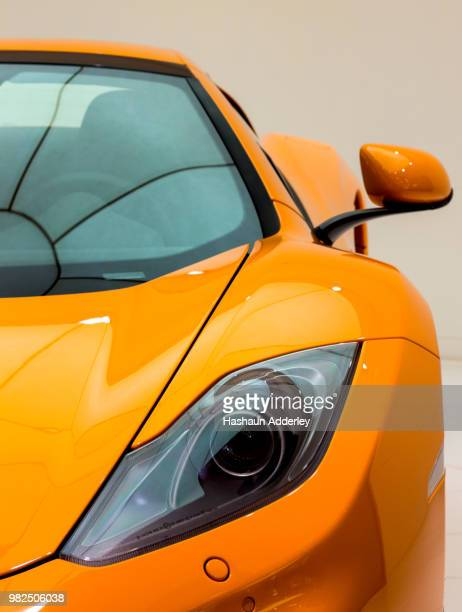 mclaren 12c - sports car stock pictures, royalty-free photos & images