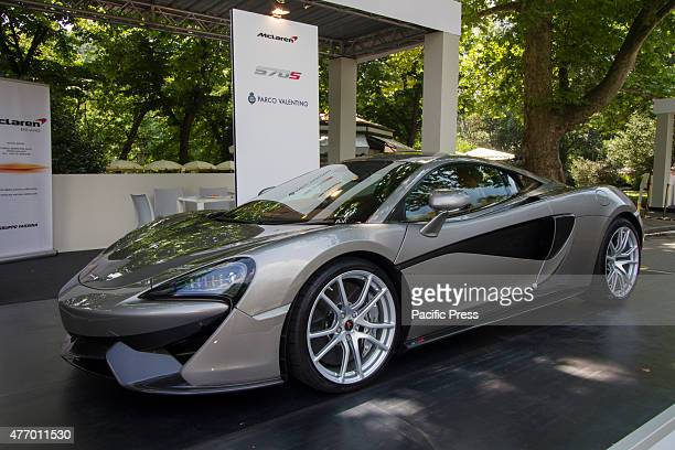 McLaren 570S Parco Valentino car show hosted 93 cars by many automobile manufacturers and car designers inside Valentino Park