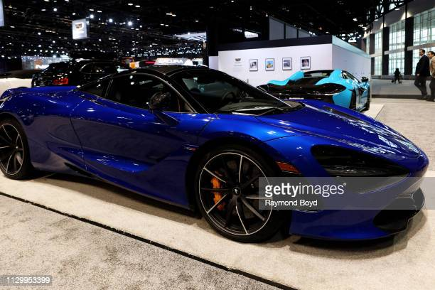 McLaren 720S is on display at the 111th Annual Chicago Auto Show at McCormick Place in Chicago Illinois on February 7 2019