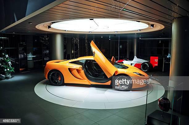 McLaren dealership in London