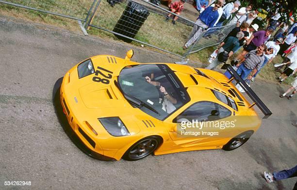 McLaren F1 Le mans winning car 1996 Goodwood festival West Sussex 2000