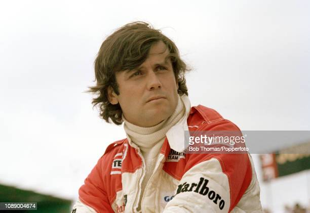 McLaren Formula One Driver Patrick Tambay of France during the British Grand Prix at the Brands Hatch circuit in Fawkham, England on July 16, 1978.