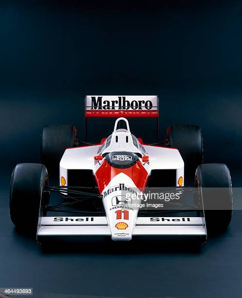 McLaren Honda MP4/4 This car was driven to first and second places by World Champions Ayrton Senna and Alain Prost From 19831988 15 litre...