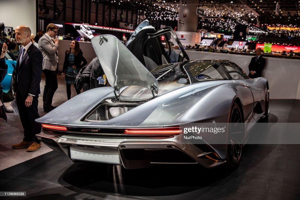 Geneva International Motor Show 2019 : Nachrichtenfoto
