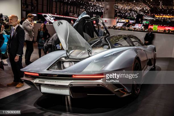 Mclaren Speedtail during the Geneva International Motor Show Gims in Geneva Switzerland from 7 to 17 of March