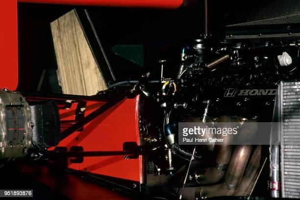 McLaren-Honda MP4/5B, Grand Prix of Spain, Circuito de Jerez, 30 September 1990. Honda RA109E 3.5 V10.