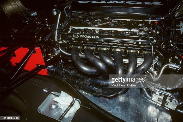 McLarenHonda MP4/6B Grand Prix of Mexico Autodromo Hermanos Rodriguez Magdalena Mixhuca 22 March 1992 Honda RA122E/B 35 V12
