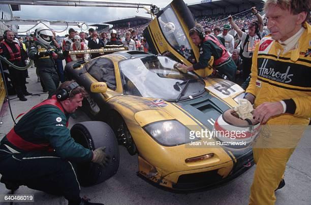 McLaren's 24 Hour Le Mans Car
