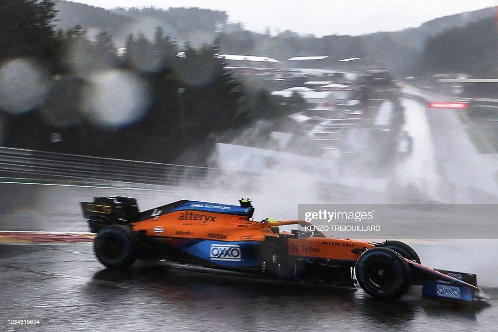 AUTO-PRIX-F1-BEL-QUALIFYING : News Photo