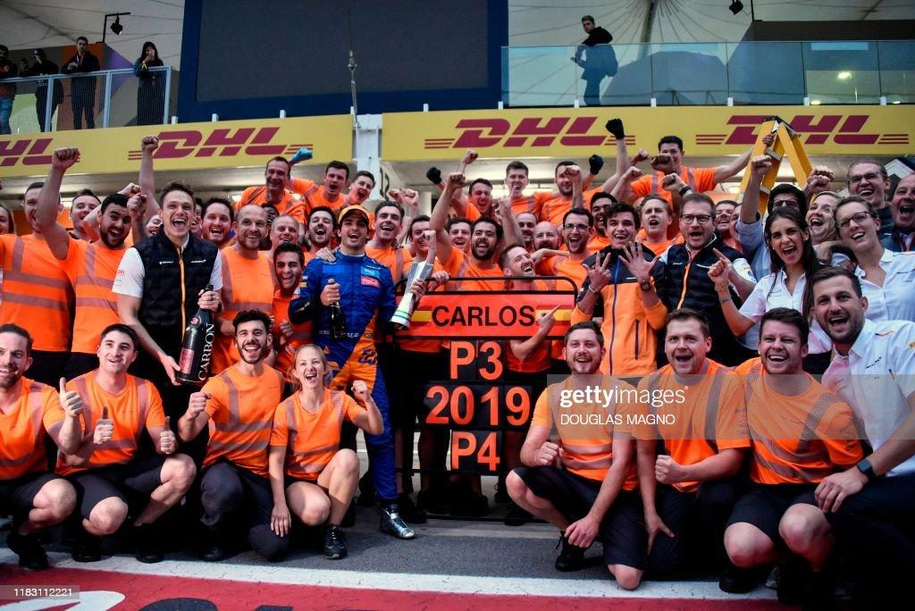 AUTO-PRIX-F1-BRA-RACE : News Photo