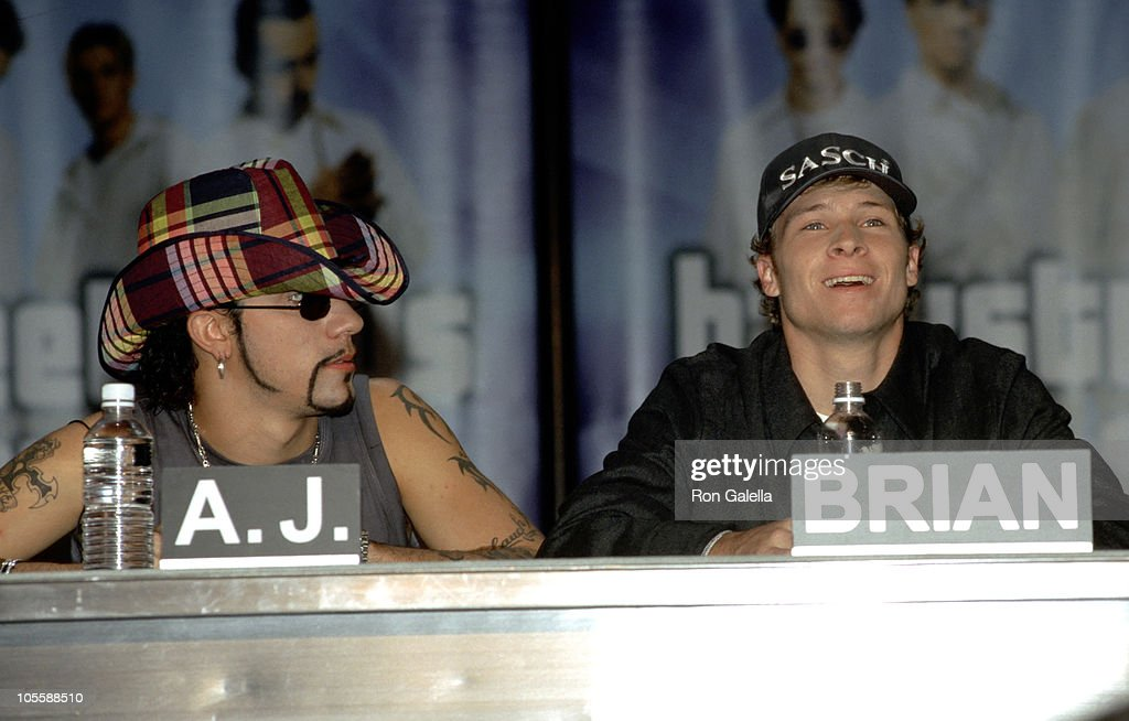 "Backstreet Boys ""Millennium"" CD Release Press Conference : News Photo"