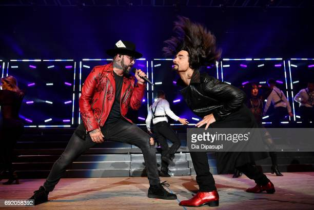 McLean and Kevin Richardson of Backstreet Boys perform onstage during 1035 KTU's KTUphoria 2017 presented by ATT at Northwell Health at Jones Beach...