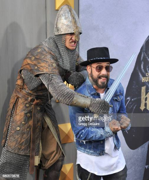 McLean arrives at the premiere of Warner Bros Pictures' 'King Arthur Legend Of The Sword' at TCL Chinese Theatre on May 8 2017 in Hollywood California