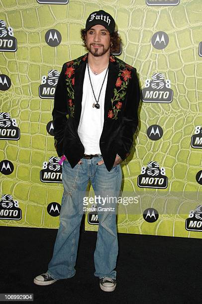 AJ McLean during Motorola's 8th Anniversary Party Featuring a Performance by Christina Aguilera Arrivals at Hollywood Palladium in Hollywood...