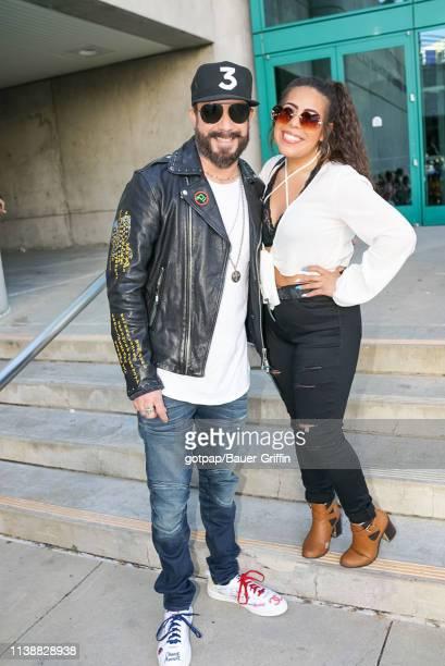 McLean is seen on April 22 2019 in Los Angeles California