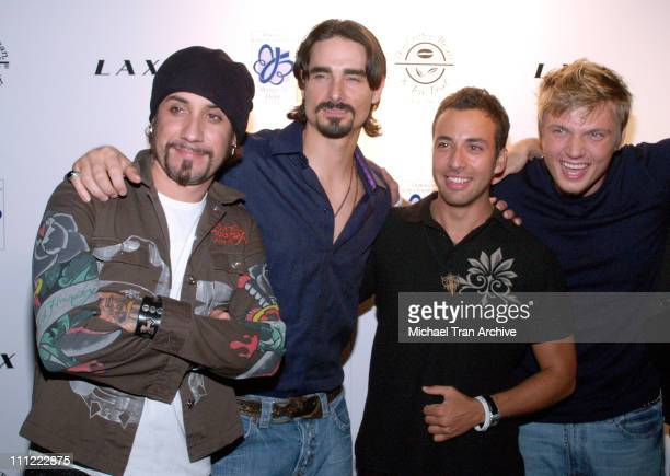 AJ McLean Kevin Richardson Howie Dorough and Nick Carter