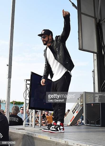 McLean of Backstreet Boys on stage at 103.5 KTU's KTUphoria 2016 presented by Aruba official Pregame party, at Nikon at Jones Beach Theater on June...