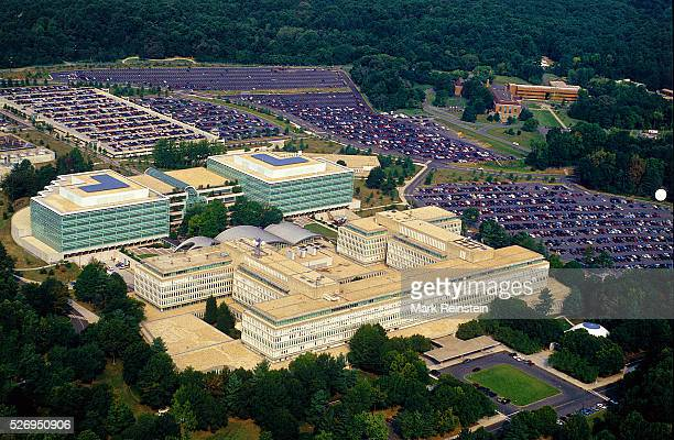 McLean Virginia 1991 Ariel view of the CIA buildings in McLean Va The Central Intelligence Agency is one of the principal intelligencegathering...