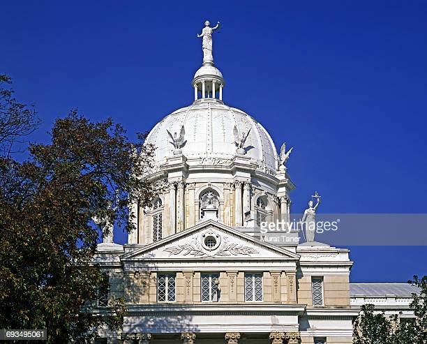 mclennan county courthouse - waco foto e immagini stock