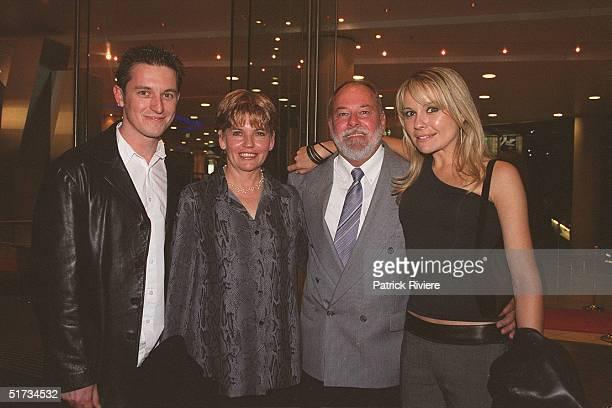 MAY 2001 ROVE McMANUS MRS EMMETT MR EMMETT AND BELINDA EMMETT SINGIN' IN THE RAIN PREMIERE STAR CITY'S LYRIC THEATRE SYDNEY