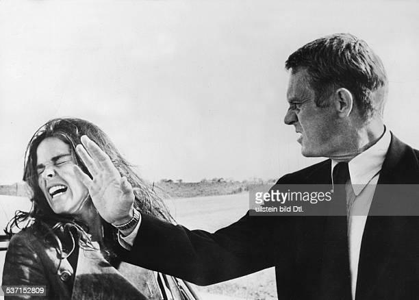 McQueen Steve Schauspieler USA mit Ali McGraw in dem Spielfilm 'Getaway' Regie Sam Peckinpah USA 1972