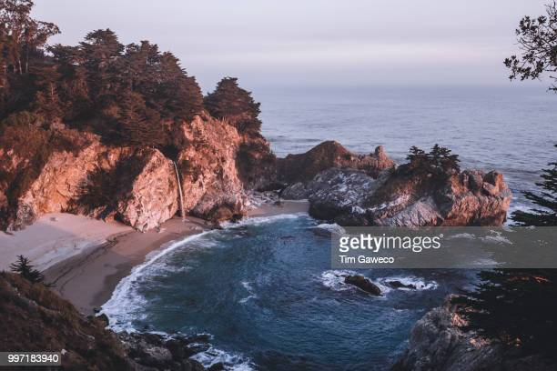 mcway falls, california, usa. - mcway falls stock pictures, royalty-free photos & images