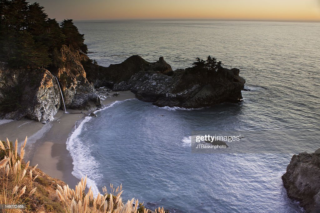 McWay Falls, Julia Pfeiffer Burns State Park, CA : Stock Photo