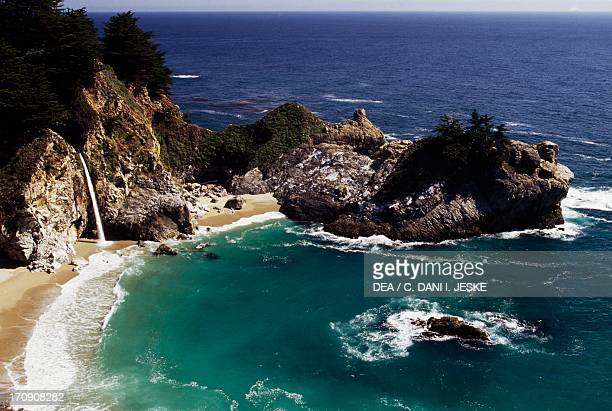 McWay Falls Julia Pfeiffer Burns State Park California United States of America