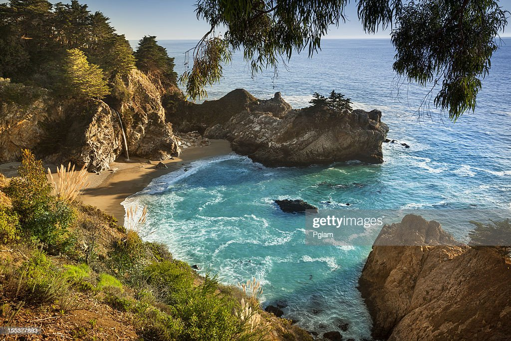 McWay Falls, Julia Pfeiffer State park, Big Sur, California, USA : Stock Photo