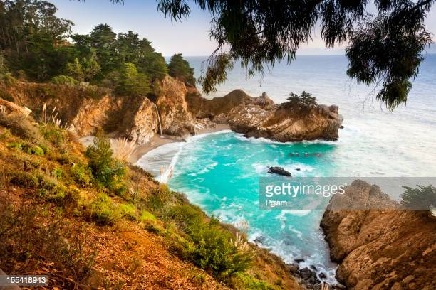 McWay Falls, Julia Pfeiffer State park, Big Sur, California, USA