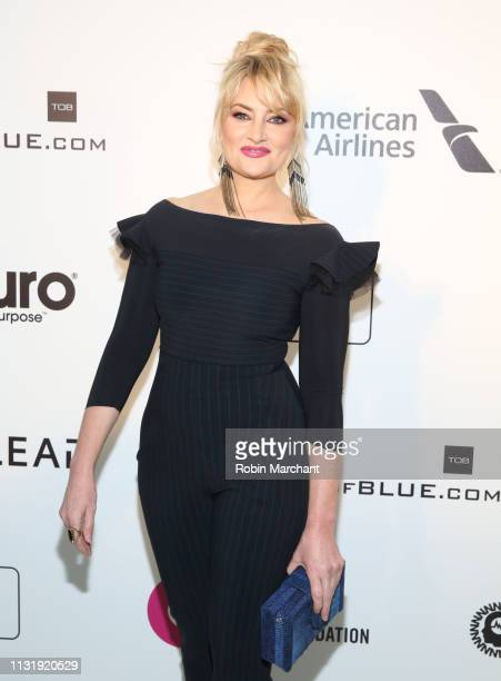Mädchen Amick attends 27th Annual Elton John AIDS Foundation Academy Awards Viewing Party Celebrating EJAF And The 91st Academy Awards on February 24...