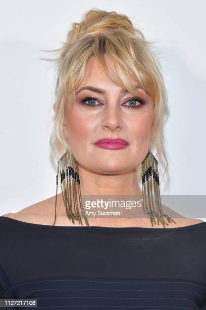 Mädchen Amick attends the 27th annual Elton John AIDS Foundation Academy Awards Viewing Party celebrating EJAF and the 91st Academy Awards on...